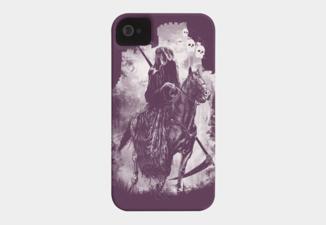 The Fourth Rider Phone Case - Design By Humans