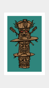 TIKI TIME Art Prints
